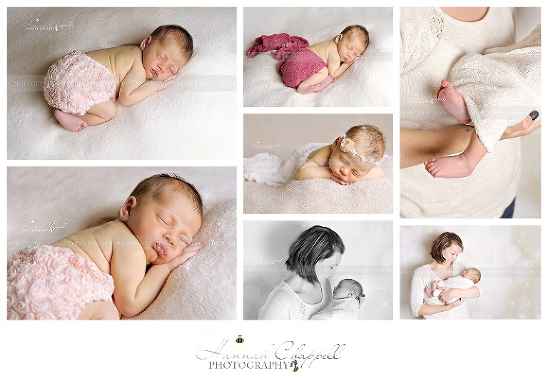 Gorgeous baby girl kiah newborn photography east sussex kent hannah chappell photography