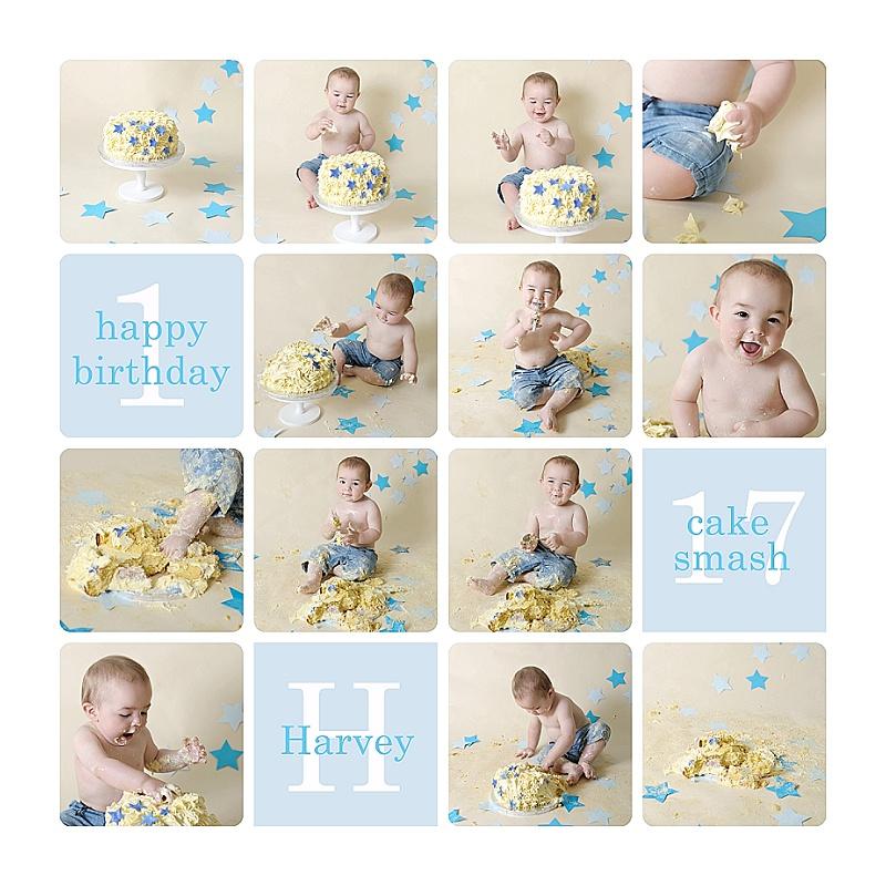 280a6be84 Cake Smash Photography - Harvey's 1st Birthday Cake Smash Celebration